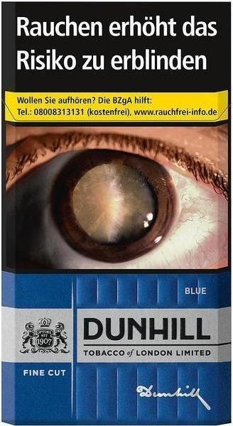 Dunhill Fine Cut Blue (Stange / 10x20 Zigaretten)