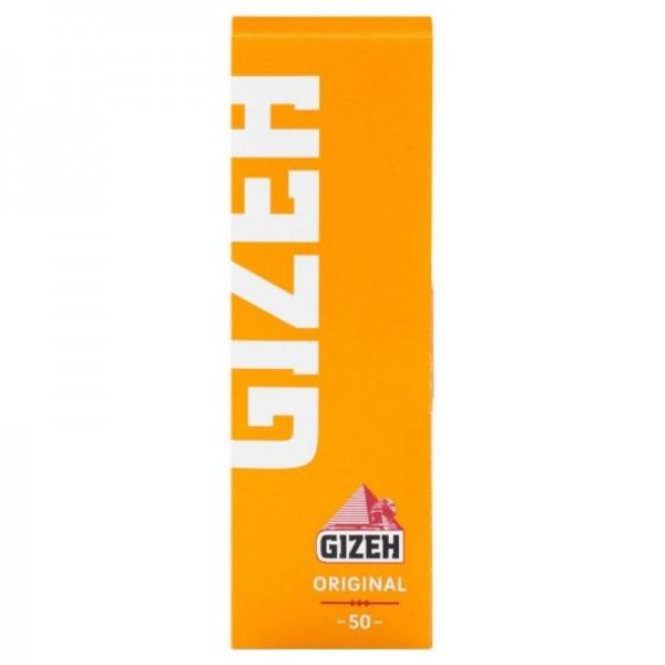 50 x 50 Blatt Gizeh Original Papers Drehpapier/ Blättchen/ Zigarettenpapier