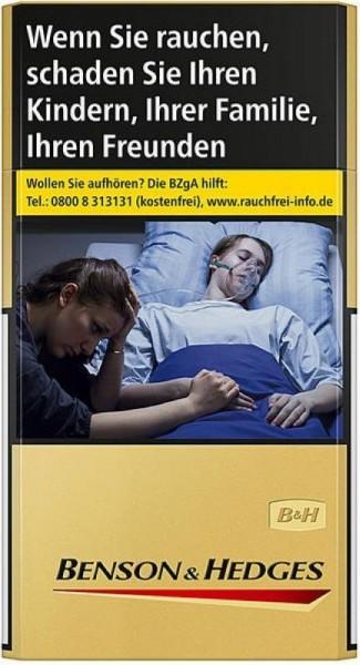 Benson & Hedges Gold Long (Stange / 10x20 Zigaretten)