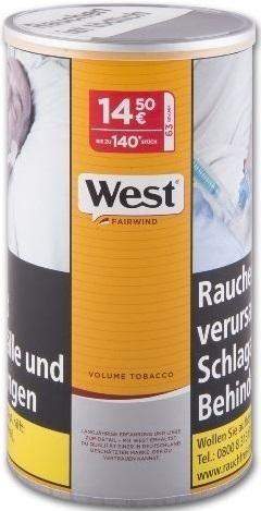 West Yellow (Fairwind) Tabak 50g Dose (Stopftabak / Volumentabak)