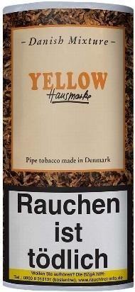 Danish Mixture Hausmarke Yellow (Mango) Tabak 50g Pouch (Pfeifentabak)