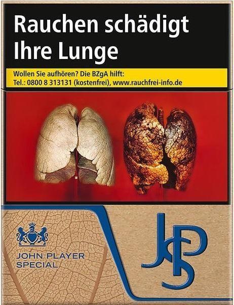 John Player JPS Just Blue (Stange / 8x22 Zigaretten)