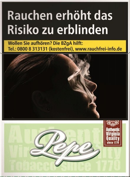 Pepe Bright (Easy) Green Big Zigaretten (29 Stück)