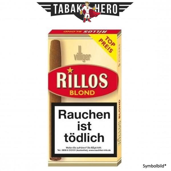 Villiger Rillos Blond (Vanilla) (20x5 Zigarillos)