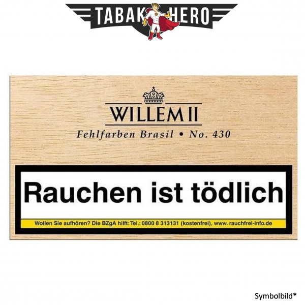 Willem II Fehlfarben 430 Brasil (50 Zigarillos)