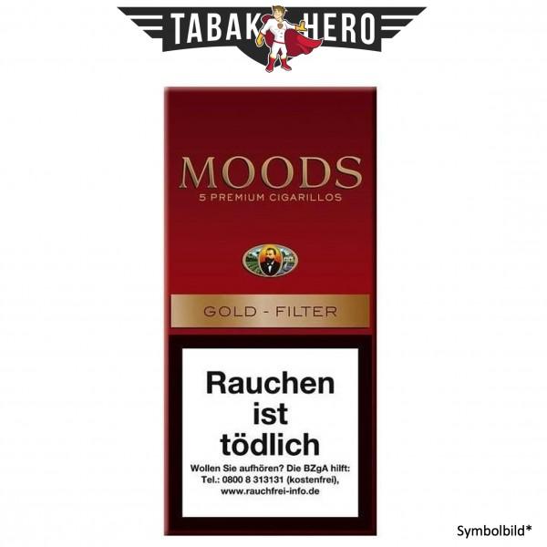 Dannemann Moods Gold Filter (Golden Taste) (10x5 Zigarillos)