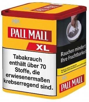 Pall Mall Allround Red XL Tabak 60g Dose (Stopftabak / Volumentabak)