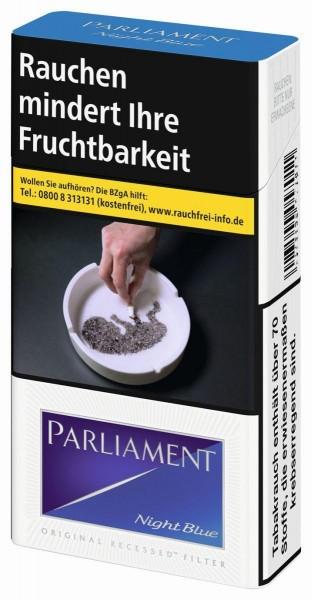 Parliament Night Blue Long (Stange / 10x20 Zigaretten)