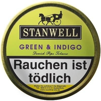 Stanwell Green & Indigo (Kir & Apple) Tabak 50g Dose (Pfeifentabak)