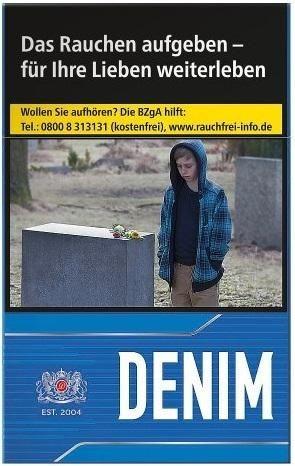Denim Blue Zigaretten (20 Stück)