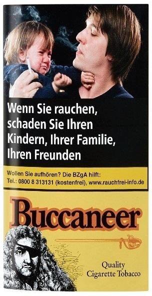 5x Mac Baren Buccaneer Whisky Tabak 40g Pouch (Drehtabak / Feinschnitt)