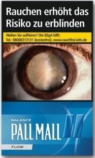 Pall Mall Flow Zigaretten (20 Stück)