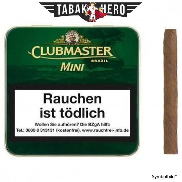 Clubmaster Mini Brasil 124 (20 Zigarillos)