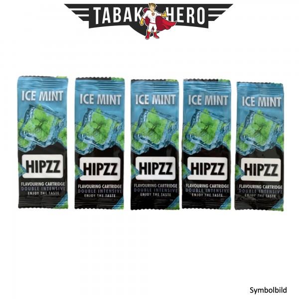 HIPZZ Aromakarten Ice Mint (Pfefferminz) - 5 Stück Aroma Karten (wie Rizla)