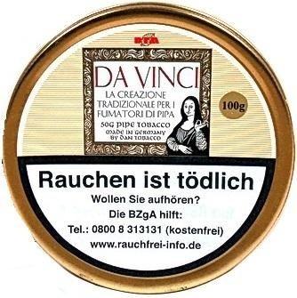 Da Vinci Tobacco Toscano per la Pipa Tabak 100g Dose (Pfeifentabak)