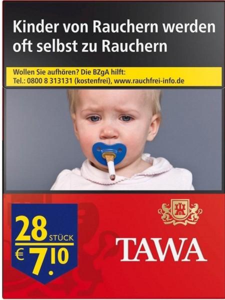 Tawa Red XXL (Stange / 8x28 Zigaretten)