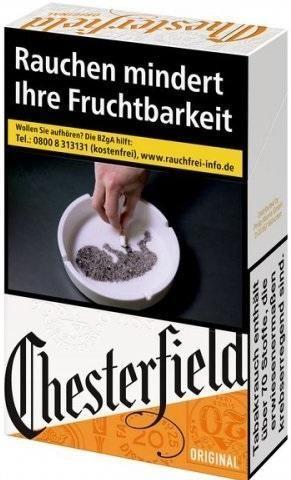 Chesterfield Original Zigaretten (33 Stück)