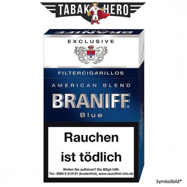 Braniff Blue ND (10x17 Zigarillos)