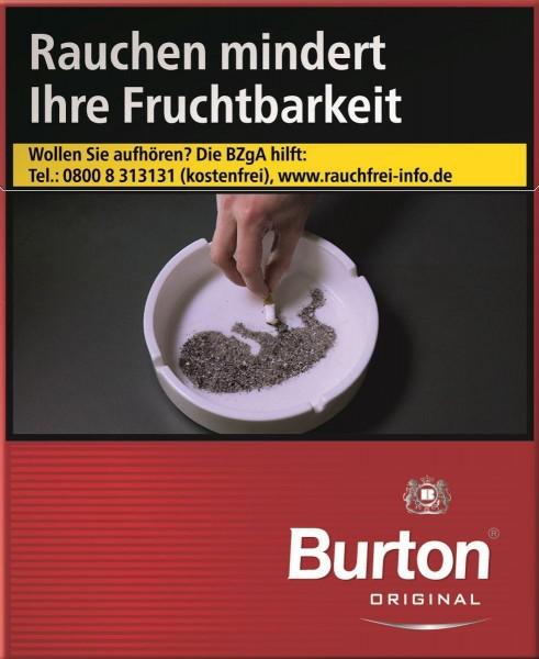 Burton Original XXXL (Stange / 4x40 Zigaretten)