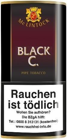 Mc Lintock Black C. (Cherry) Tabak 50g Pouch (Pfeifentabak)