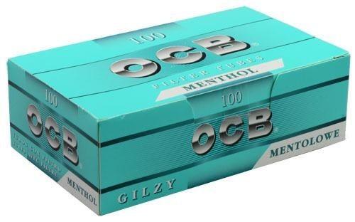 500 Stück OCB Menthol Hülsen Filterhülsen Zigarettenhülsen Stopfhülsen