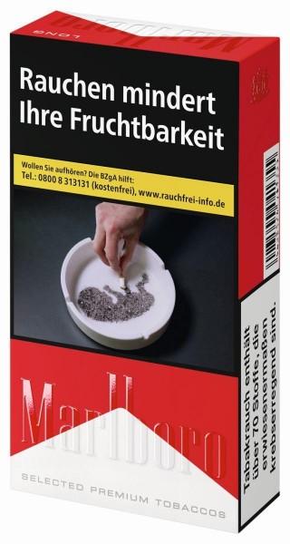 Marlboro Red Long (Stange / 10x20 Zigaretten)