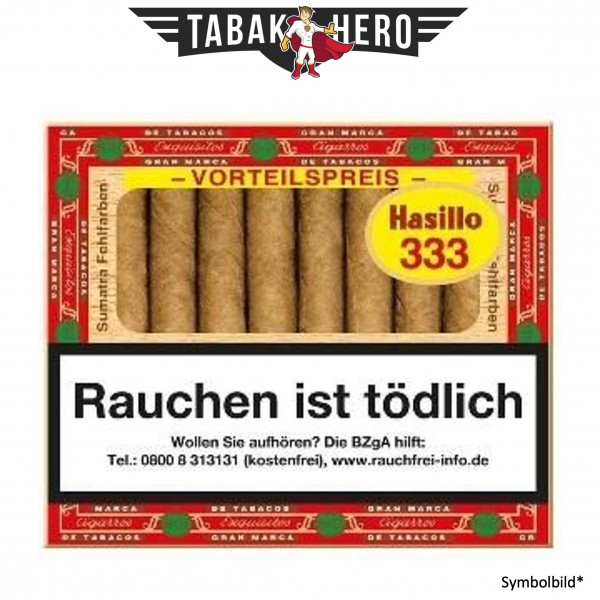 Hasillo FF 333 Sumatra (5x50 Zigarillos)