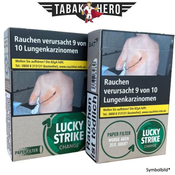 Lucky Strike Change Dark Green (Stange / 10x20 Zigaretten)