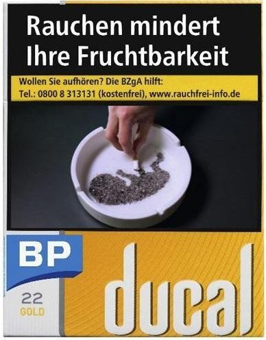 Ducal Gold (Stange / 8x22 Zigaretten)