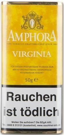 5x Amphora Virginia Tabak 50g Pouch (Pfeifentabak)