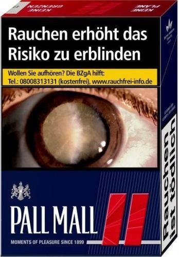 Pall Mall Red (Stange / 12x21 Zigaretten)