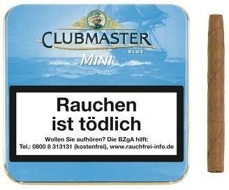 Clubmaster 280 Mini Blue (Blue Gold) (20 Zigarillos)