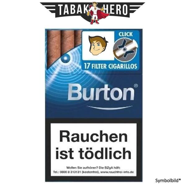 Burton Blue Crush Naturdeckblatt L-Box (10x17 Zigarillos)
