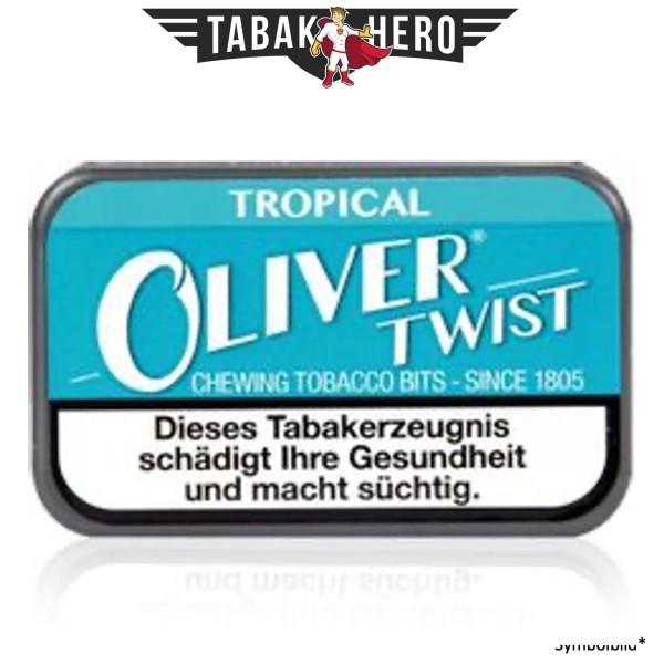Oliver Twist Tropical Tobacco Bits Kautabakpastille / Sticks