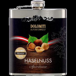 Haselnuss Spirituose im Flachmann 200ml