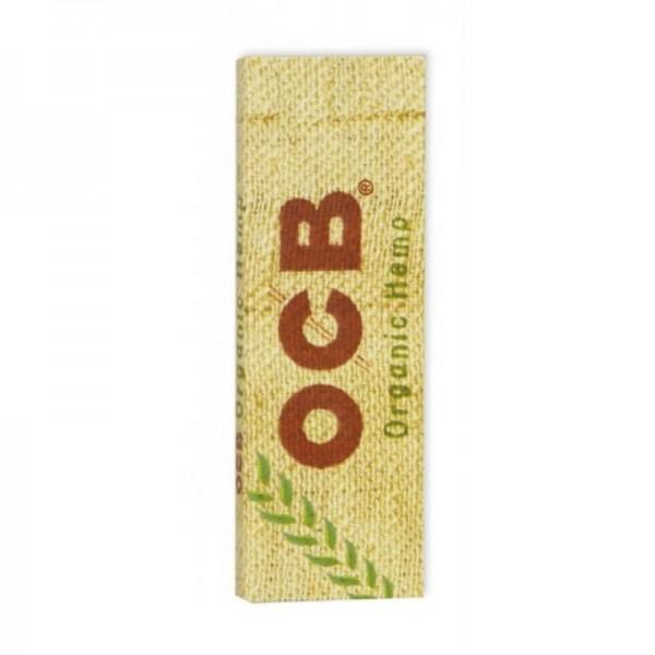 10 x 50 Blatt OCB Organic Hemp Drehpapier/ Blättchen/ Zigarettenpapier