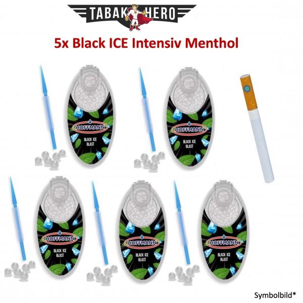 5 x BLACK ICE BLAST Aromakugeln, Aromakapseln