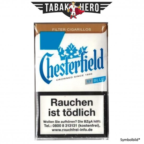 Chesterfield Blue KS (10x17 Zigarillos)