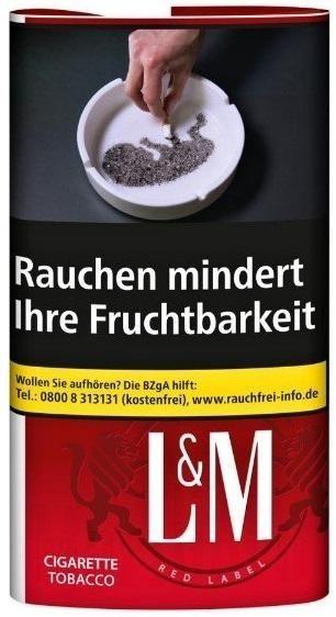 L&M Tobacco Tabak 30g Pouch (Drehtabak / Feinschnitt)