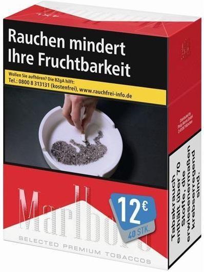 Marlboro Red Zigaretten (38 Stück)
