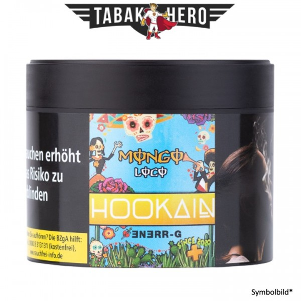 Hookain Tobacco - Mongo Loco RR 200g Shisha Tabak
