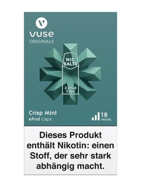 5 x 2 Vuse (Vype) ePod Caps Crisp Mint 18mg