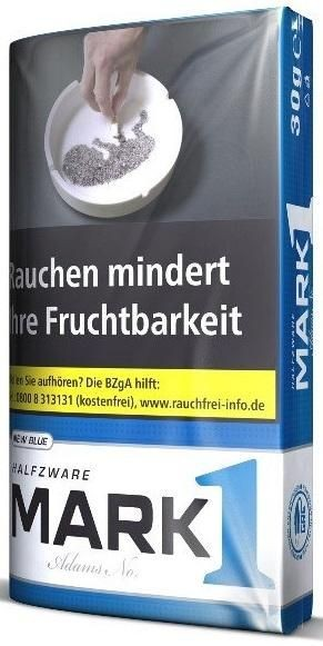 10x Mark 1 Halfzware Tabak 30g Pouch (Drehtabak / Feinschnitt)
