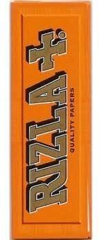 Rizla orange Drehpapier/ Blättchen/ Zigarettenpapier 50 Blatt