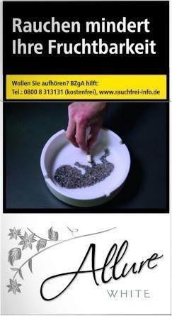 Allure White SSL XXXL Zigaretten (40 Stück)