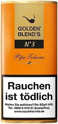 Golden Blend's No.3 (Amaretto) Tabak 50g Pouch (Pfeifentabak)