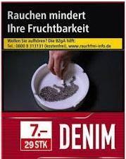 Denim Red XXL (Burton Value) Zigaretten (29 Stück)