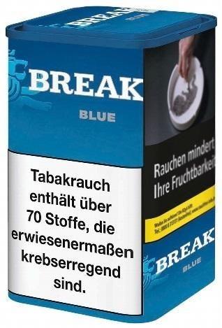 Break Blue Tabak 120g Dose (Stopftabak / Volumentabak)