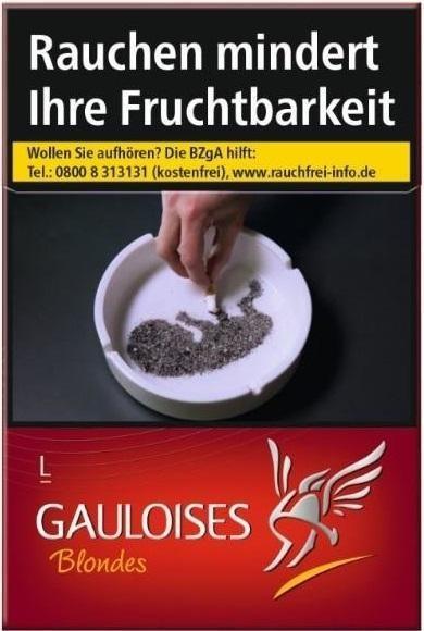 Gauloises Blondes Rot Zigaretten (20 Stück)