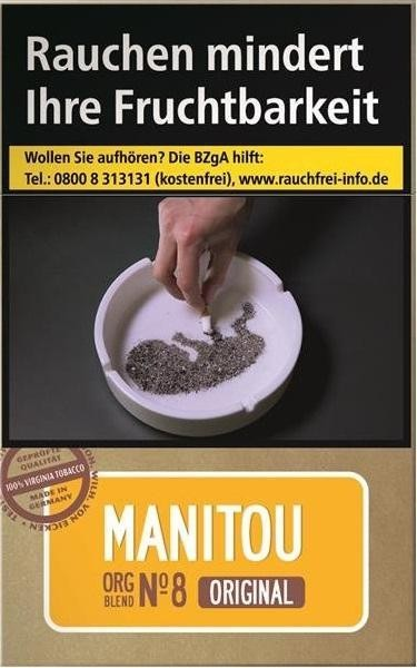 Manitou Org. No Gold (Stange / 10x20 Zigaretten)
